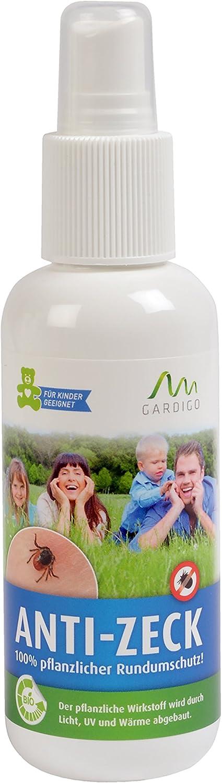 Gardigo 80003 - Bio Natural Spray Natural Anti-Pulgas y Garrapatas; 130 ml