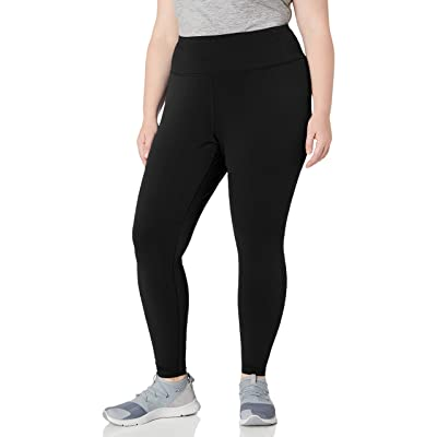 Essentials Women's Plus Size Performance High-Rise Full-Length Legging: Clothing