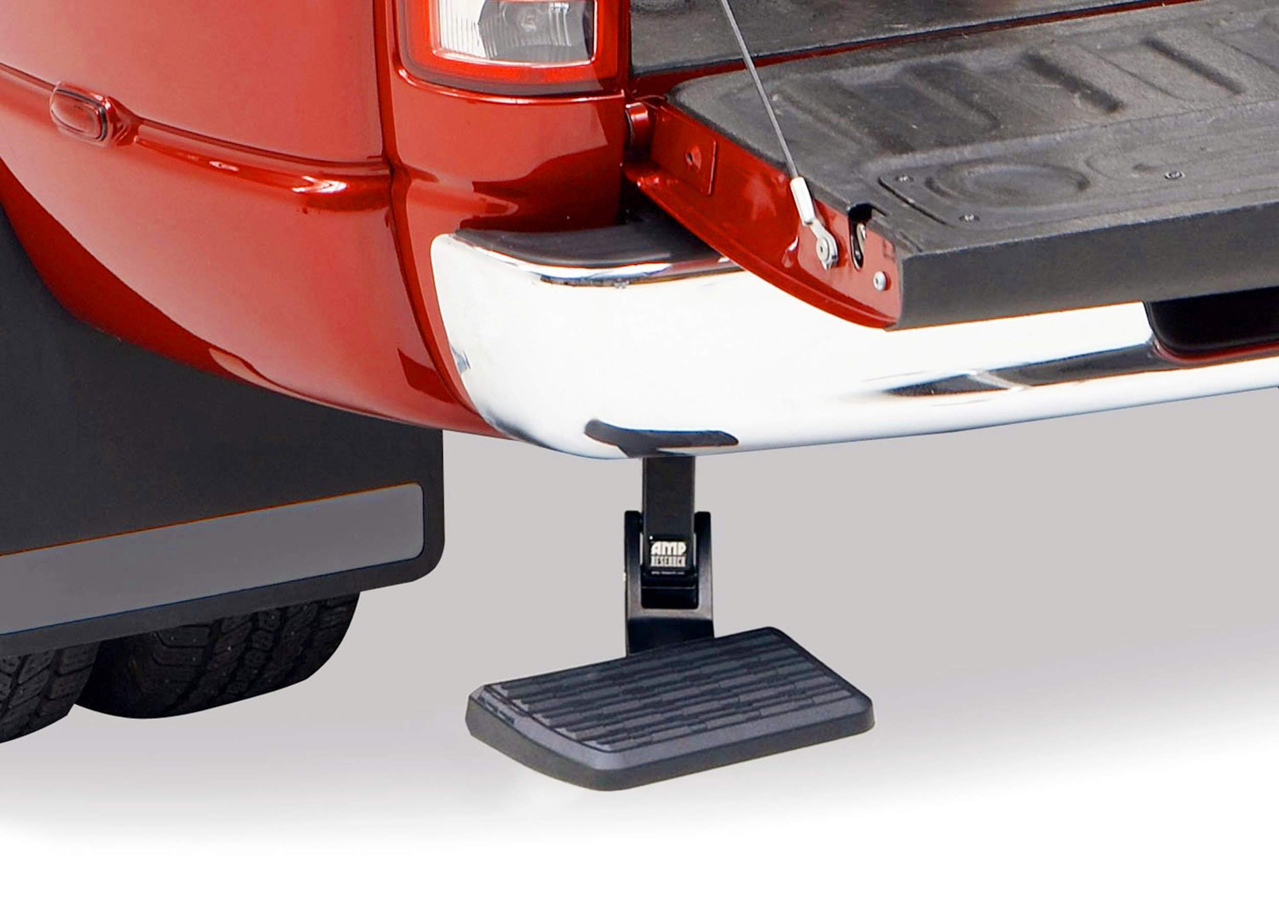 MKING 75306-01A BedStep Retractable Bumper Step for 2009-2018 Ram 1500, 2010-2018 Ram 2500/3500 (Excludes Dual Exhaust & EcoDiesel Models) by MKING