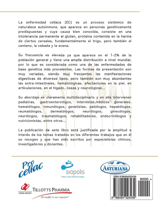Enfermedad celíaca y sensibilidad al gluten no celíaca (Spanish Edition): Luis Rodrigo, Amado Salvador Peña: 9788494023439: Amazon.com: Books