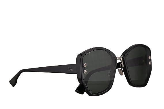 fc1bb051e1 Christian Dior DiorAddict 2 Sunglasses Black w Green Lens 59mm 807O7  DiorAddict2S DiorAddict2 S