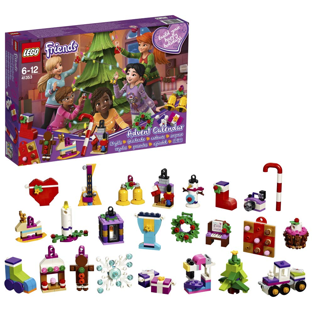 LEGO 41353 Friends Advent Calendar 2018 Christmas Countdown Building Toy for Kids