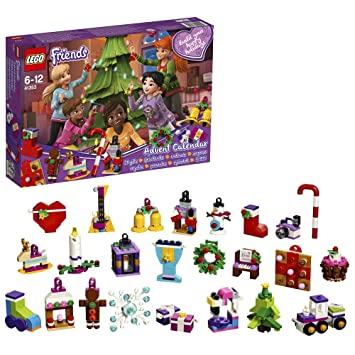 Calendrier Avent Lego Star Wars 2019.Lego Friends Le Calendrier De L Avent Lego Friends 41353 Jeu De Construction