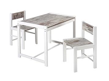 Schardt 019995602 - Set tavolo e sedie Sammy shabby chic: Amazon ...