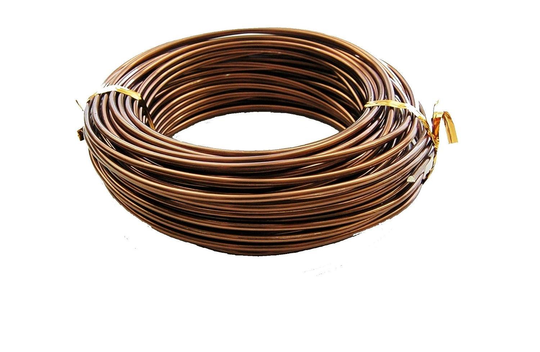 U Nitt Bonsai Tree Training Wires 250 Gram Roll 25mm 60ft High Wiring Seedlings