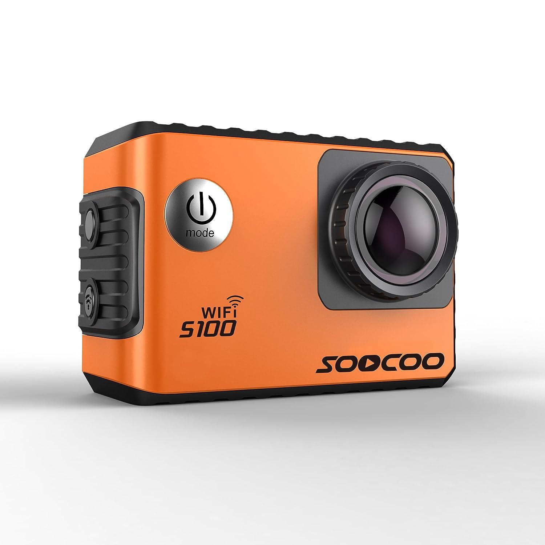 Eptek @ soocoo S100 Action Kamera 4 K Wifi Sports DV Full HD Gyro 30 m Wasserdicht Tauchen Mini Camcorder 5,1 cm Sport Cam ntk96660 (GPS Modell nicht enthalten) (Orignal)