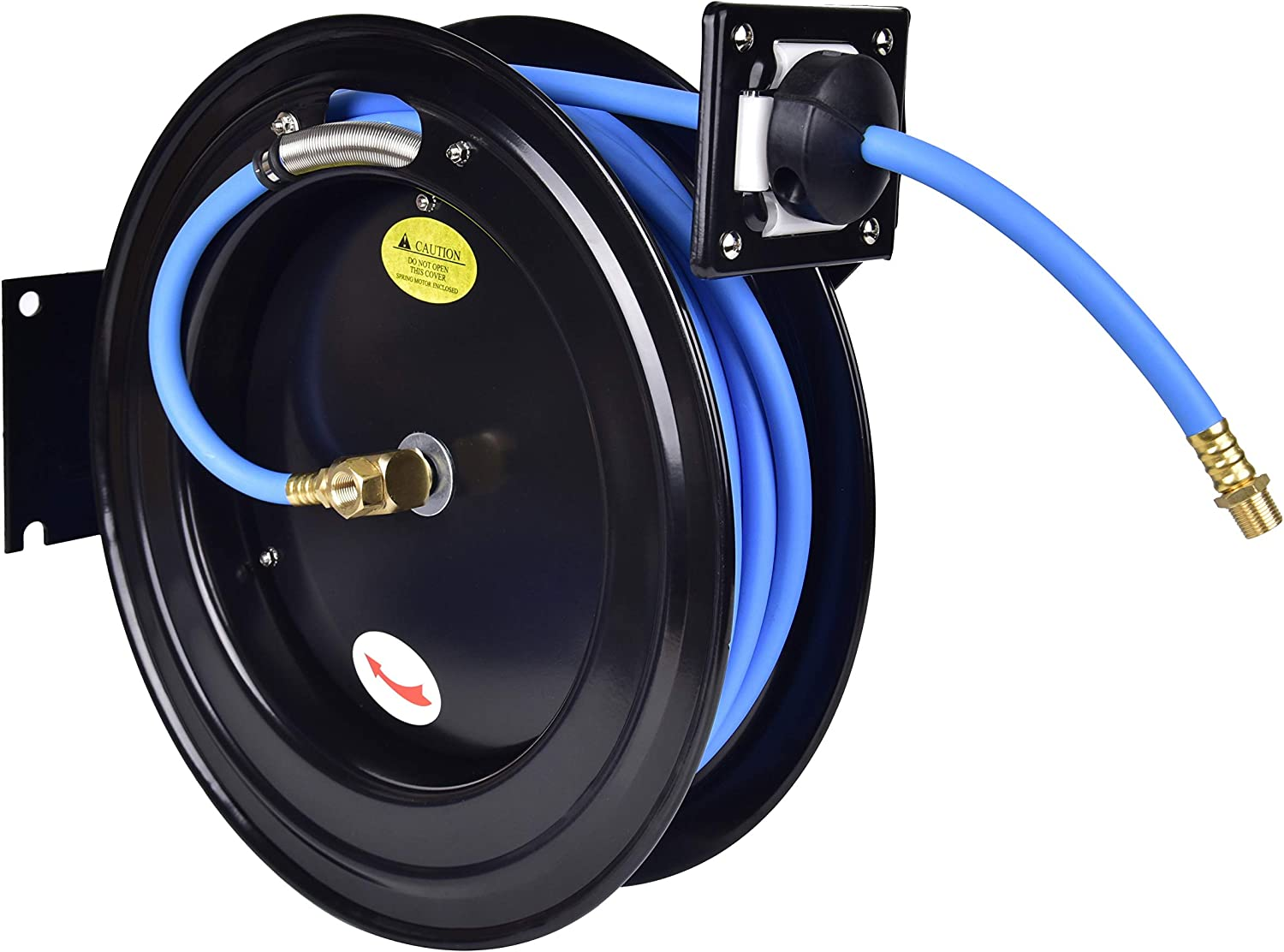 Aain AA039Z Retractable Air Hose Reel With 3/8