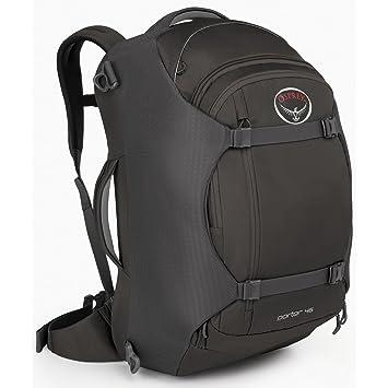 Amazon.com: Osprey Porter Travel Backpack Bag, Black, 46-Liter ...