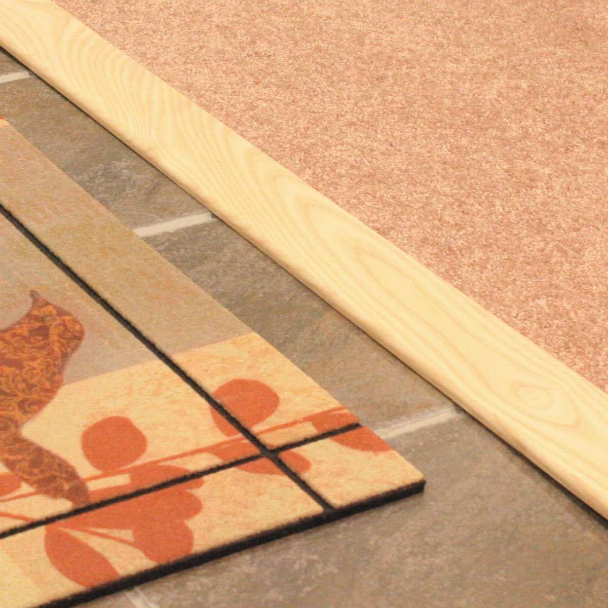 M-D Building Products 11924 3-Inch Flat Hardwood Threshold with 36-Inch