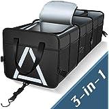 Knodel Sturdy Car Trunk Organizer with Premium Insulation Cooler Bag