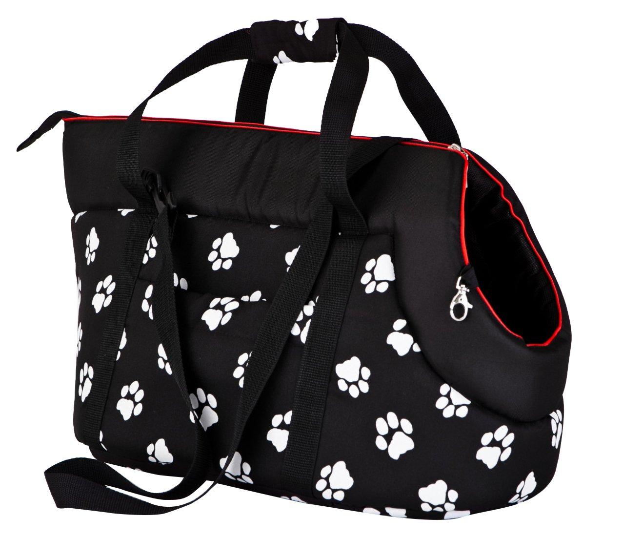 Grigio con Fiori 27/x 25/x 43/cm Hobbydog Tor gwk8/Borsa da Trasporto per Cani e Gatti