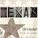 Thirstystone 4-Piece Life's Too Short Coaster Set