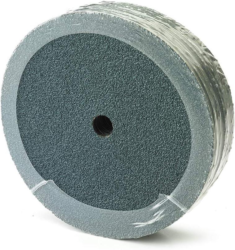 """Mercer Industries 310036 Zirconia Resin Fibre Discs, 9-1/8"""" x 7/8"""", 36 Grit (25 Pack) 71oNqDluaAL"""