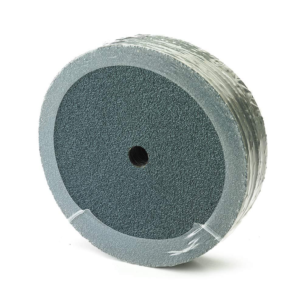 Mercer Industries 310036 Zirconia Resin Fibre Discs, 9-1/8'' x 7/8'', 36 Grit (25 Pack)