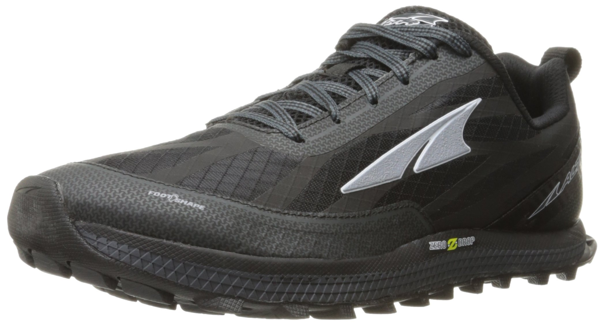 Altra Men's Superior 3 Running Shoe, Black/Yellow, 9 M US