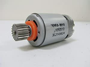 12 Volt # 7R Motor Pinion (19T) for Fisher Price Power Wheels Kids Ride On Car, 12V Replacement Gearbox Motor