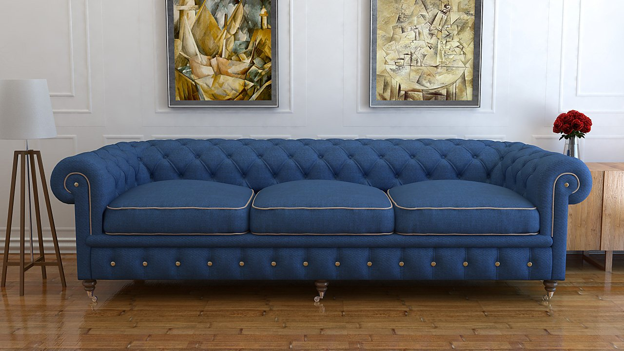 Blue Chesterfield Sofa Blue Chesterfield Sofa Bed Blue Chesterfield Sofa For Sale Home