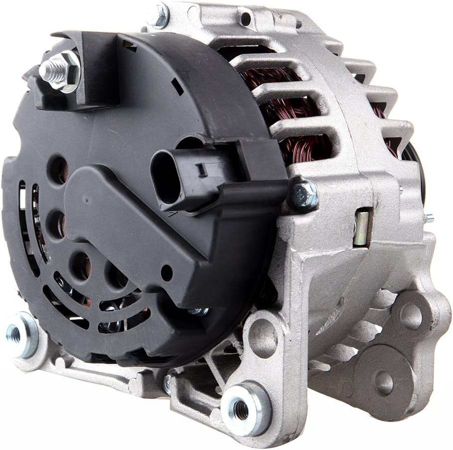 OCPTY Alternators 13852 90A Replacement fit for Seat Nuevo Ibiza 2010 VW Clasico 2011-2014 Derb 2006-2009 Jetta City 2008-2009 IR//IF 6-Groove Pulley 110654-5209-1407097611