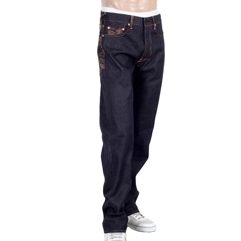 RMC Ksohoh Martin Ksohoh RMC arcobaleno Tsunami Wave Denim Jeans rossom0064 2d73f8
