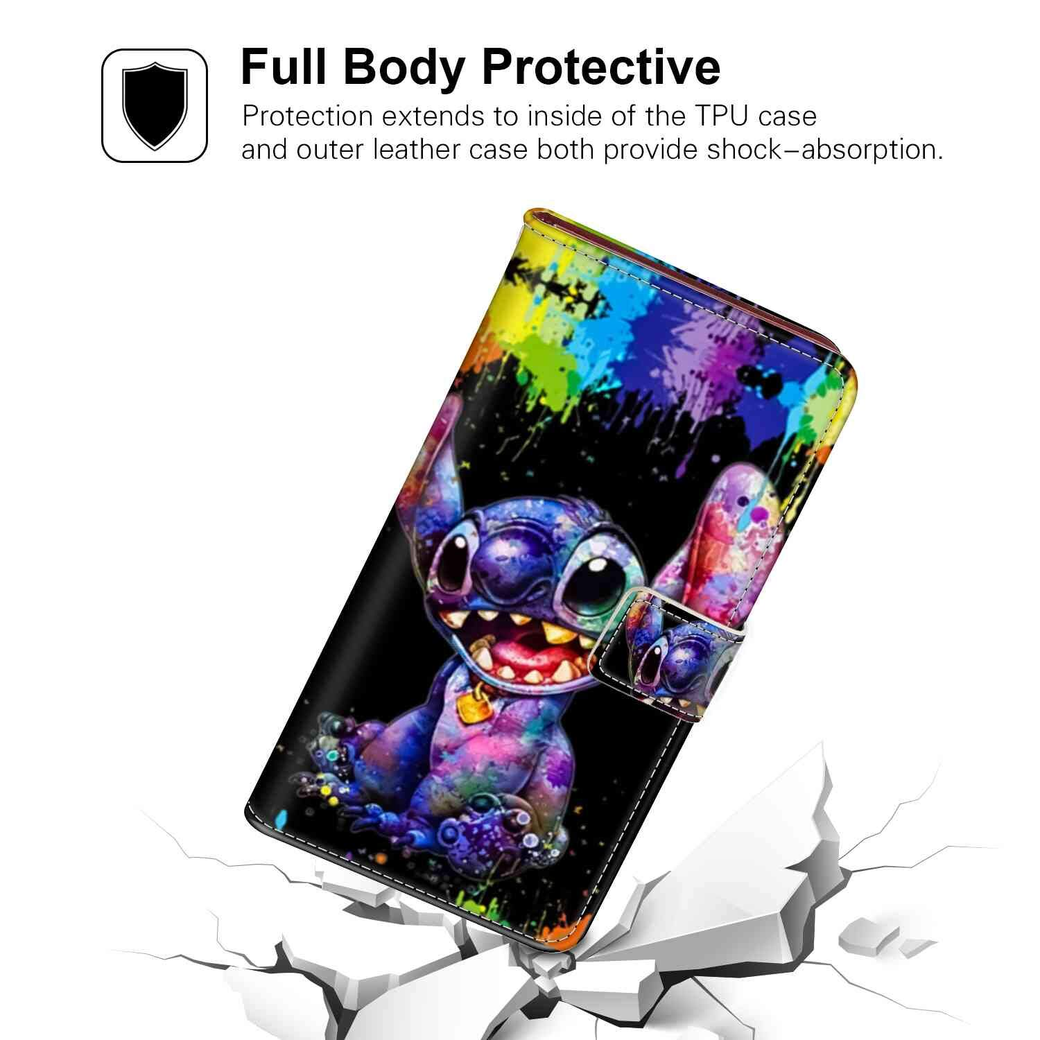 Amazoncom Style Stitch Wallpapers Phone Wallet Case Fit