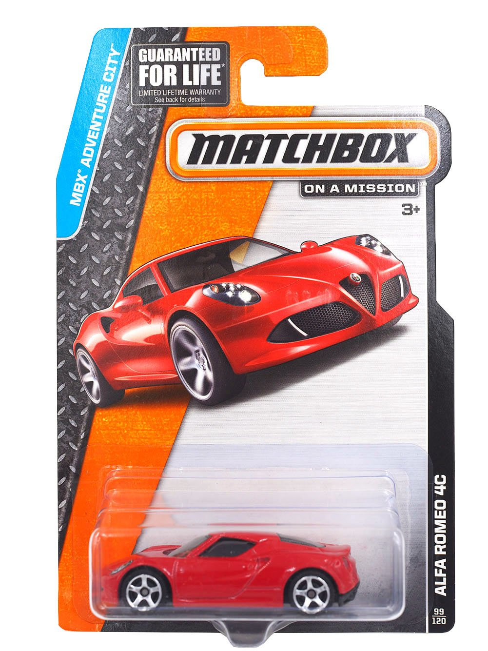 Matchbox MBX Adventure City Alfa Romeo 4C 99/120