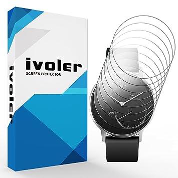 iVoler [Pack de 8] Protection écran pour Nokia Steel, Couverture Complète [Liquide