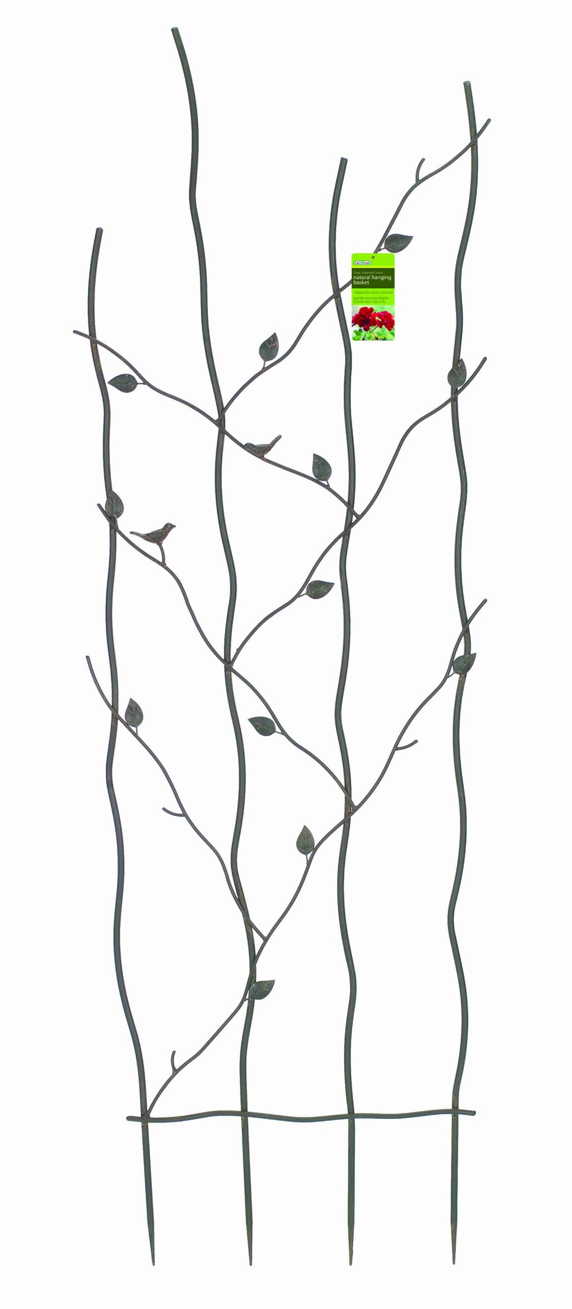 Gardman R543 Nature Metal Trellis, 24'' Wide x 72'' High