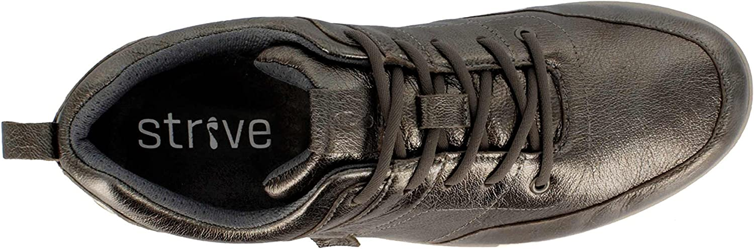 Strive Indiana Lace Up Arch Support Comfy Sole Orthotic Active Wear Shoe//Trainer