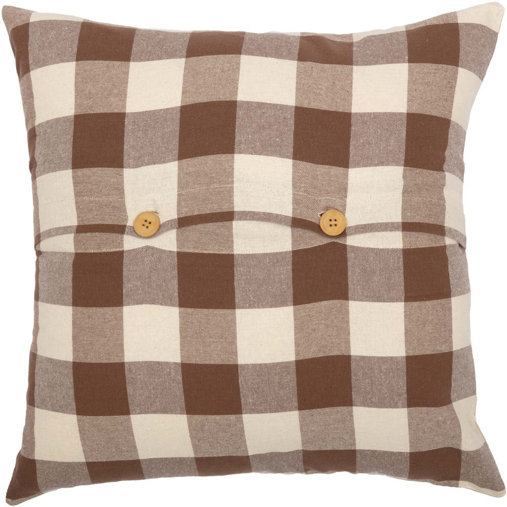 Country Farmhouse Holiday Christmas Home Decor 18 x 18 Piper Classics Merry /& Bright Throw Pillow Cover 18 x 18