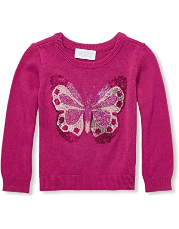 636b39407 The Children's Place Toddler Girls' Graphic Sweater
