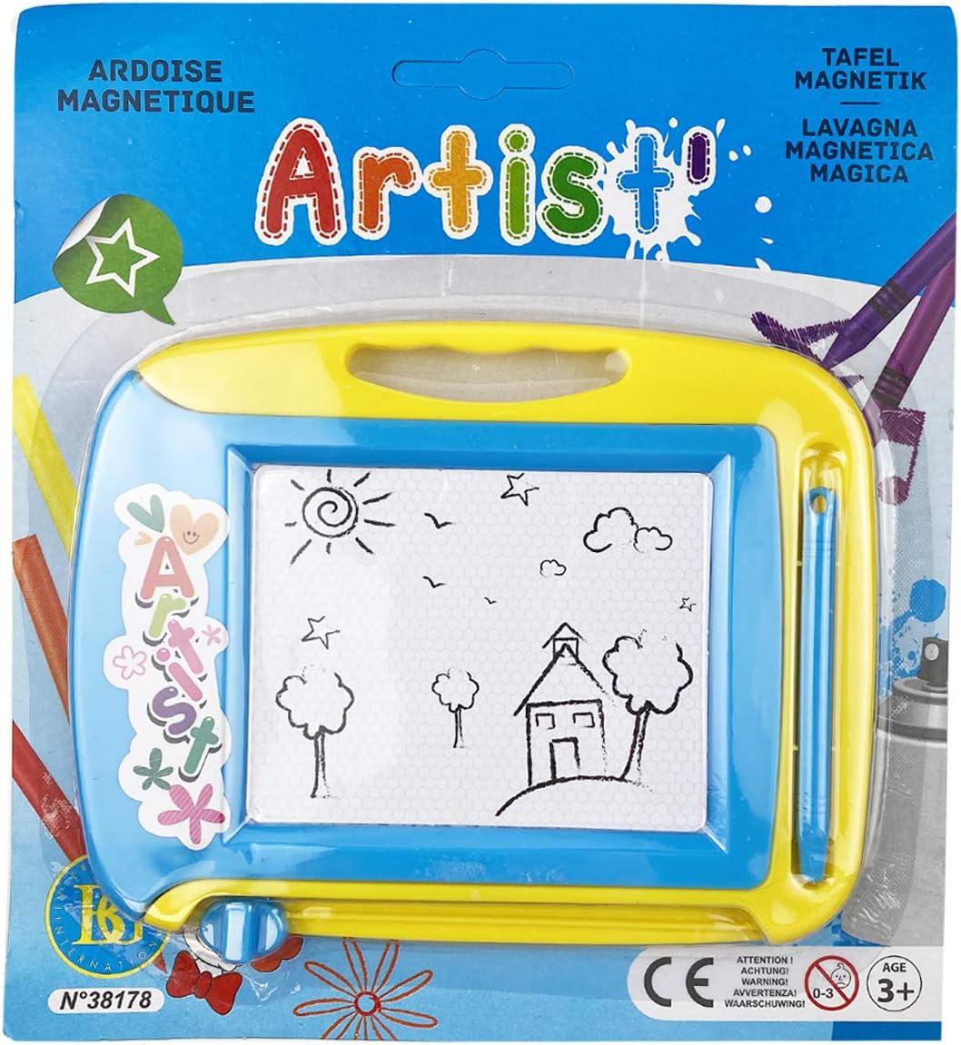 AURSTOR BASA Mini Ardoise Magique 16 X 12,5 cm-Tableau de Dessin Magn/étique Effa/çable-Jouet Educatif pour enfants cf200001