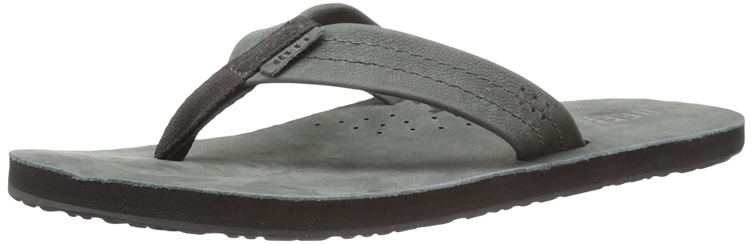 85eb164652204 Amazon.com: Reef Mens Leather Sandals Draftsmen | Bottle Opener Flip Flops  For Men With Soft Cushion Footbed | Waterproof: Shoes