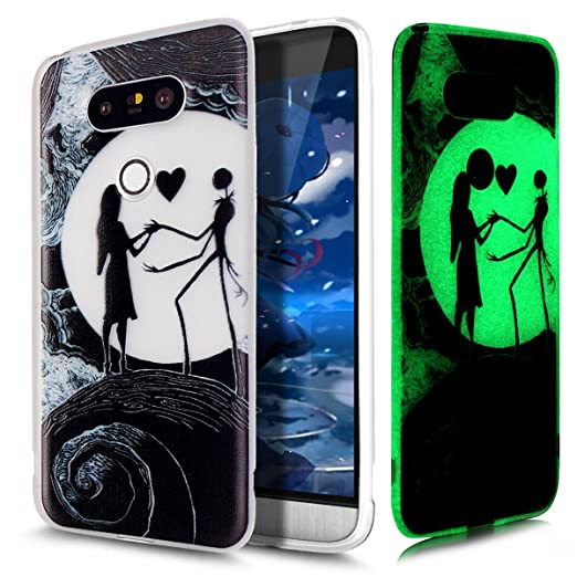 1 opinioni per Cover LG G5,Custodia LG G5,ikasus® Crystal Traslucido TPU luminoso nottilucenti