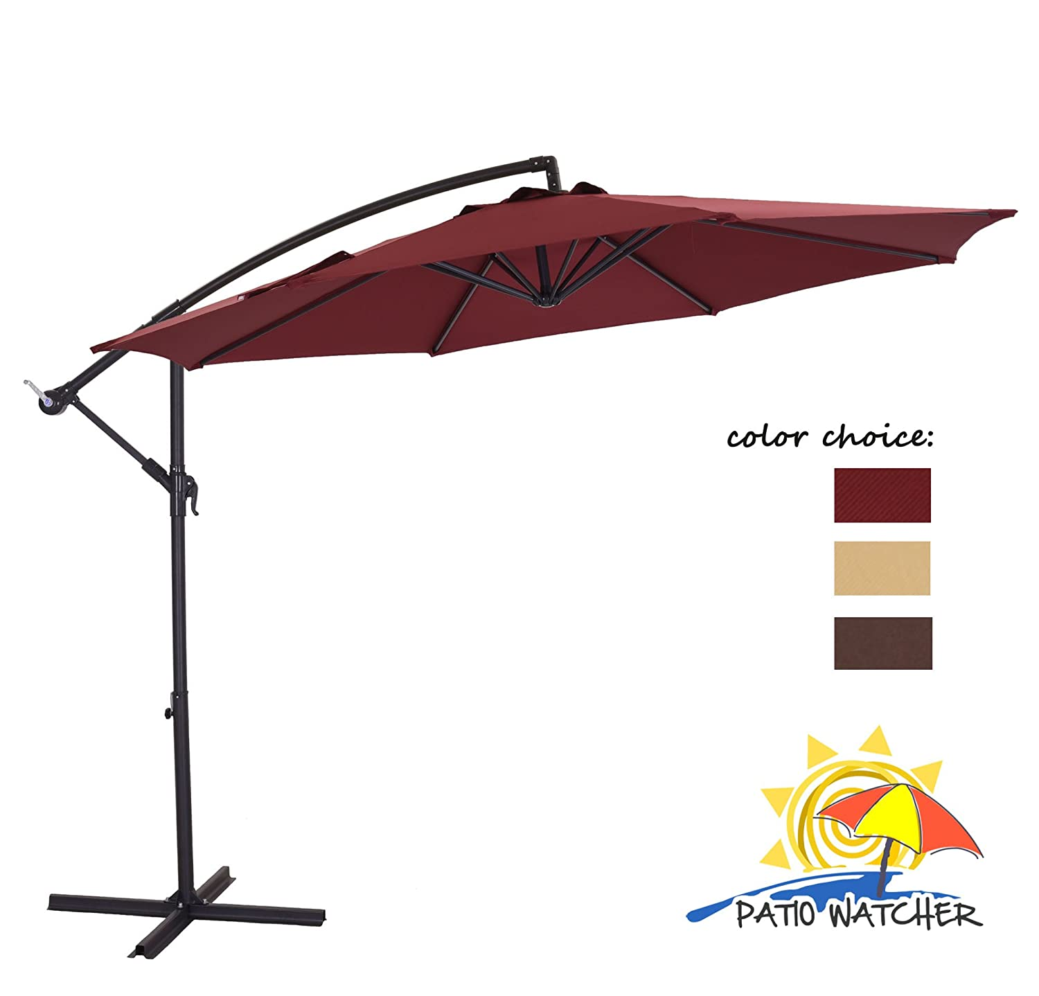 Best cantilever umbrella 2018 reviews buyer s guide for Best outdoor umbrellas reviews