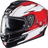 HJC Helmets RPHA-ST Unisex-Adult Full Face ZAYTUN Street Motorcycle Helmet (Red/White/Black, Large)