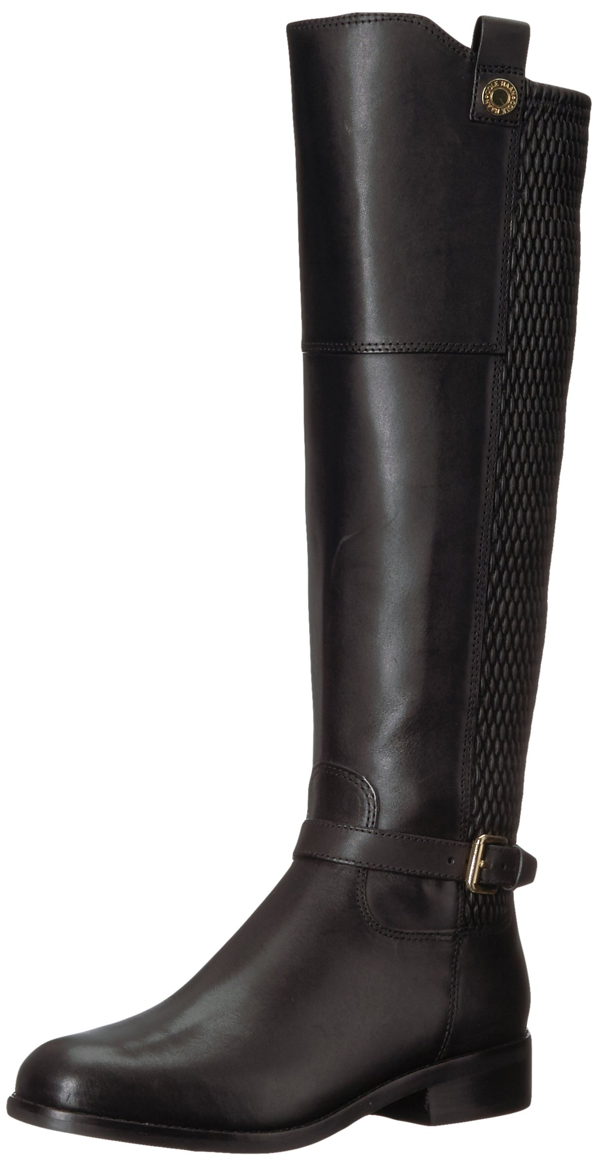 Cole Haan Women's Galina Boot, Black Leather, 8 B US