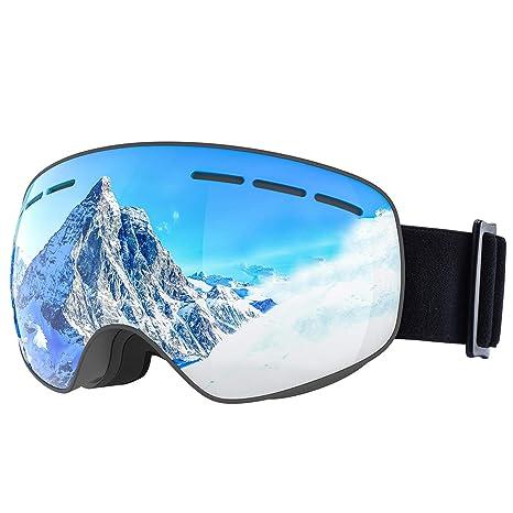 8c4b893ac67 Amazon.com   OMORC OTG Ski Snow Goggles