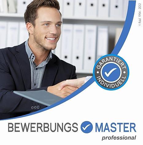 Bewerbungsmaster Professional 2018 Auf Cd Rom Bewerbung Schreiben