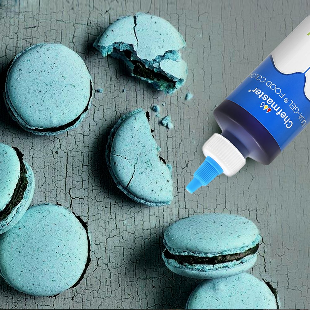 Chefmaster Natural Food Coloring for Decorating, Airbrush Cake Food Color, True Blue All Natural Food Coloring, 7 oz. Natural Coloring for Whipped Icing & Fondant, Gluten-Free All Natural Food Color by Chefmaster (Image #7)