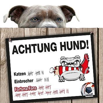 Hunde Warnschild Schutz Vor Dusseldorf Fans Fc Koln Bayer