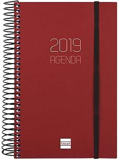 Agenda 2019 día página catalán: Amazon.es: Oficina y papelería