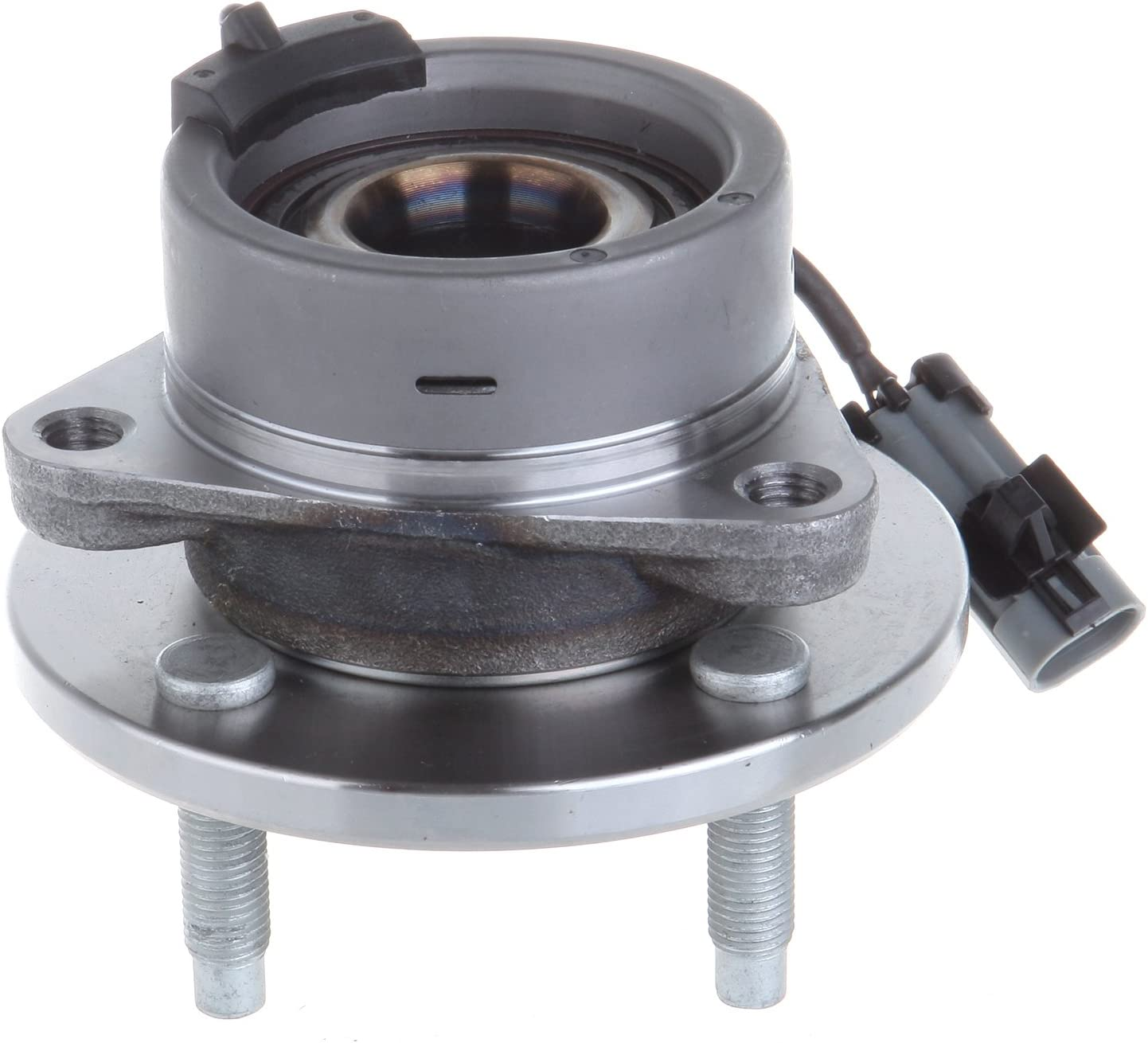1,2,3 4 Lug W//ABS Pursuit; Saturn Ion Rear Wheel Hub and Bearing Assembly for Chevy Cobalt; Pontiac G5 Both Pair Brand New 512247 x2