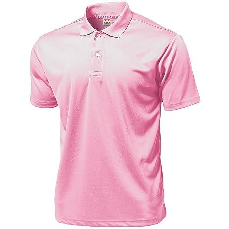 Wundou P335?4XL - Polo para Hombre, Color Rosa Claro: Amazon.es ...