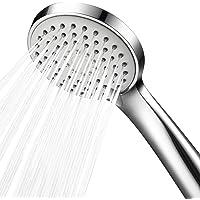 Shower Head,Samodra Low Water Pressure Boosting Handheld Shower Head High Pressure Water Saving 3 Powerful Spray Settings for Bathroom – Chrome,1 Pack