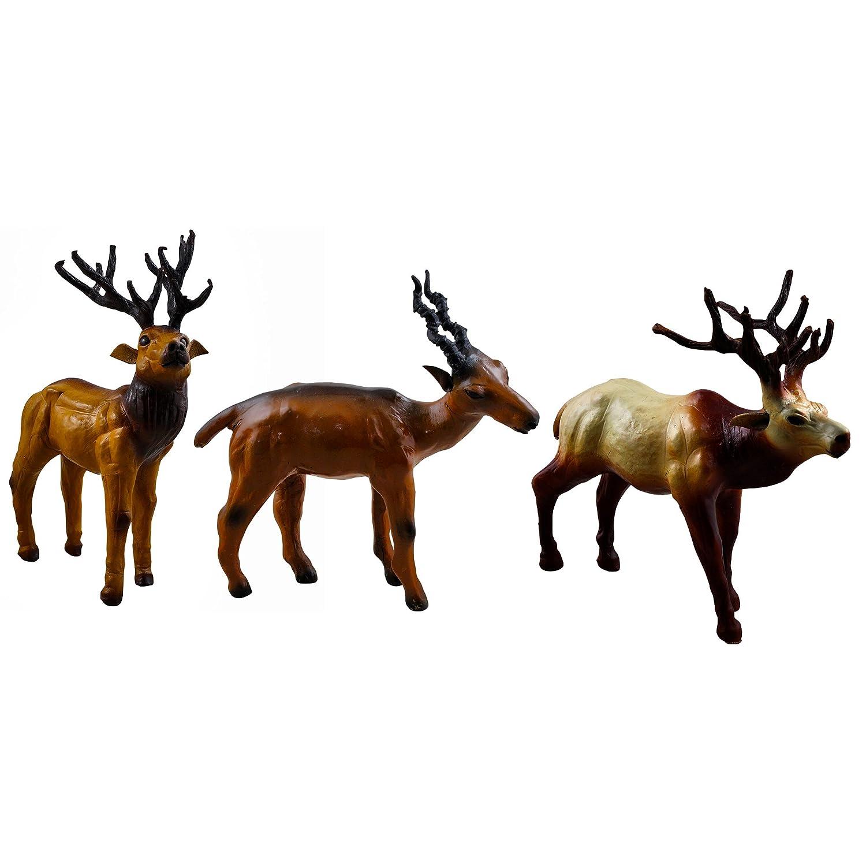Weihnachtsgeschenke handgefertigte Wildlife Tierfiguren Leather ...