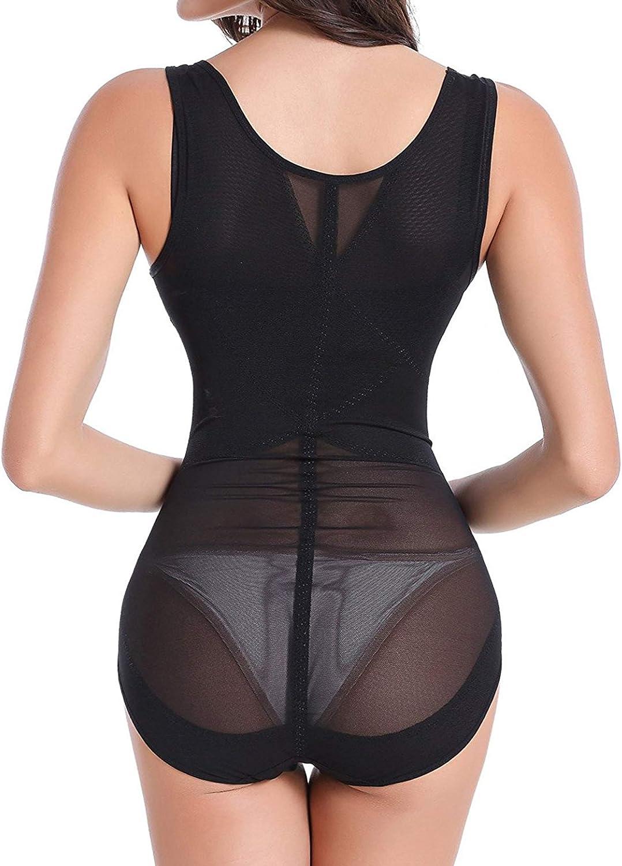 Women OMG_Shop Women Seamless Firm Control Shapewear Faja Open Bust Bodysuit Body Shaper Clothing