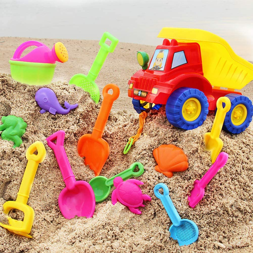Queta Beach and water play table childrens outdoor activity table baby dredging tools childrens beach table sand pool set