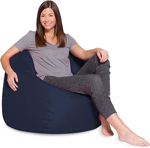 Best bean bag chair: Posh Beanbags Big Comfy Bean Bag Posh Large Beanbag Chairs