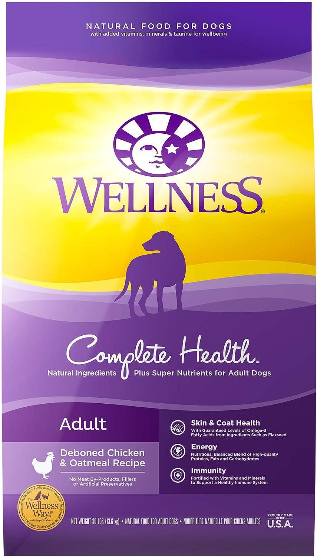 2. Wellness Complete Health Adult Dry Dog Food