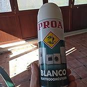 SPRAY Blanco electrodomésticos PROA: Amazon.es: Bricolaje y ...